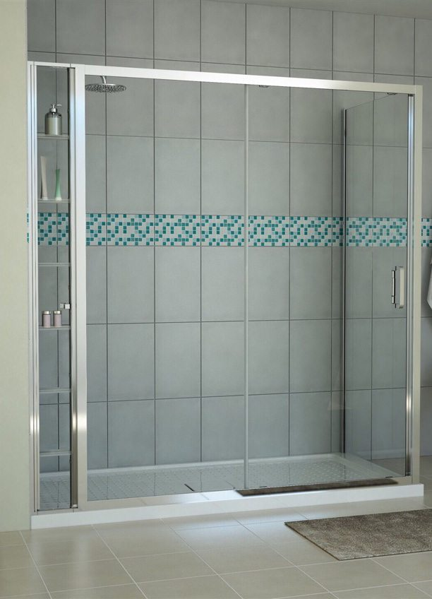 Shower Enclosure Vertical Storage Unit 1900mm - MLH Products