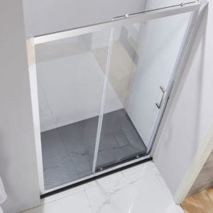 slate shower tray fitted viewed from above